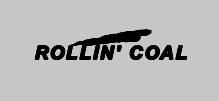 Rollin' Coal Diesel Truck / Car Decal Windshield Rear Window Decal Dodge Ram, Chevy Duramax, Ford Powerstroke, Superduty, Cummins by MelissasVinylDesigns on Etsy