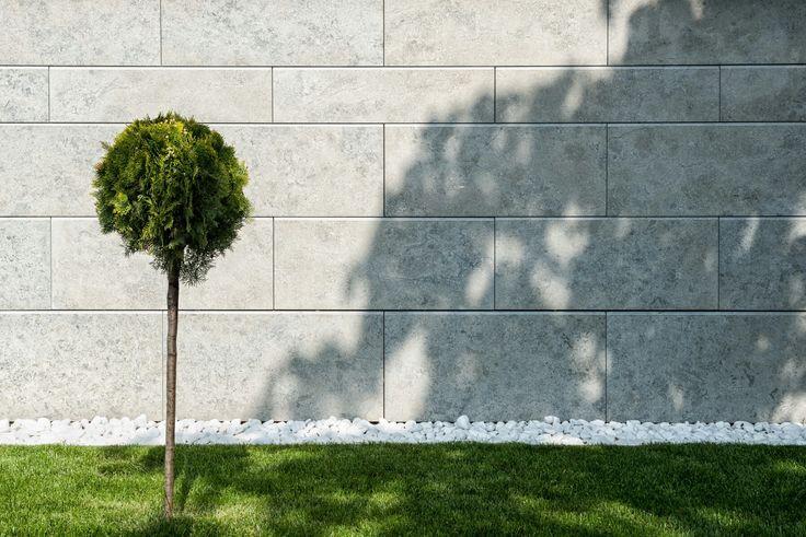 Transylvania grey limestone wall cladding Cluj Napoca
