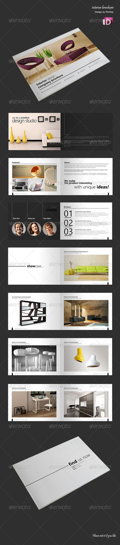 Print Template - GraphicRiver Brochure Catalogue Interior Studio 5055838 » Tinkytyler.com - Stock Photos  Graphics
