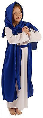 #Nativity-easter-white & blue bible villager/mary #fancy #dress costume all ages ,  View more on the LINK: http://www.zeppy.io/product/gb/2/370946723879/