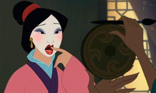 Vamos lá. | Vamos ser honestos, Mulan é a única princesa da Disney que importa