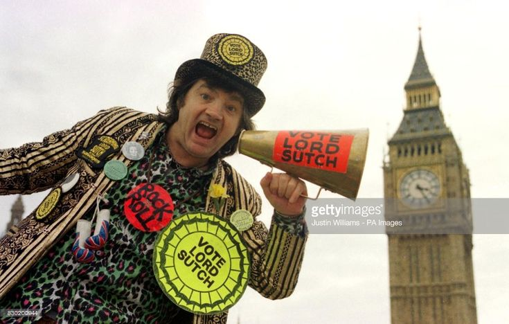 News Photo : Screaming Lord Sutch, the former rock singer who...