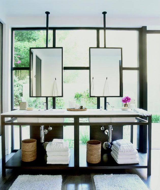Popular Unusual Bathroom Mirrors  HOME OF ART