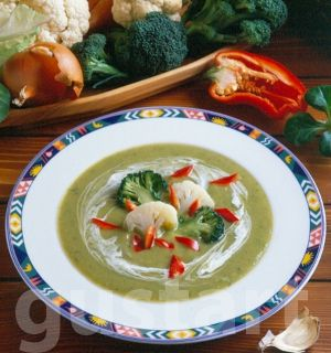Lajos Mari konyhája - Karfiol-brokkoli krémleves