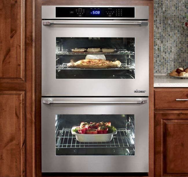 """Dacor DTO230S208V 30"""" Distinctive Series Electric Double Wall Oven"""
