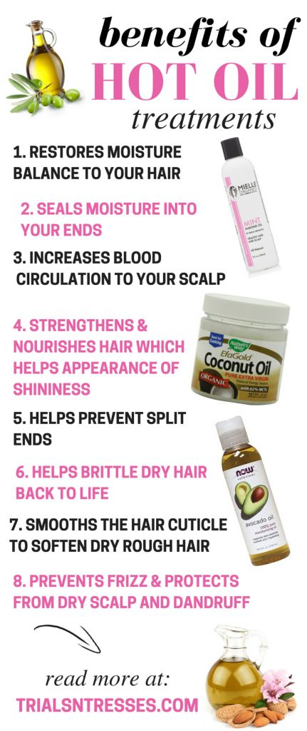 Benefits of hot oil treatments