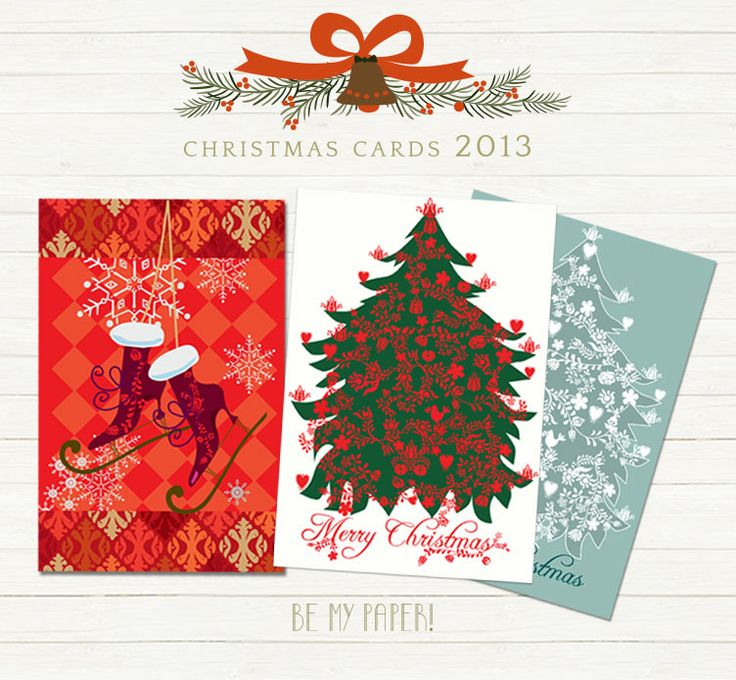 Be My Paper! Christmas Cards 2013