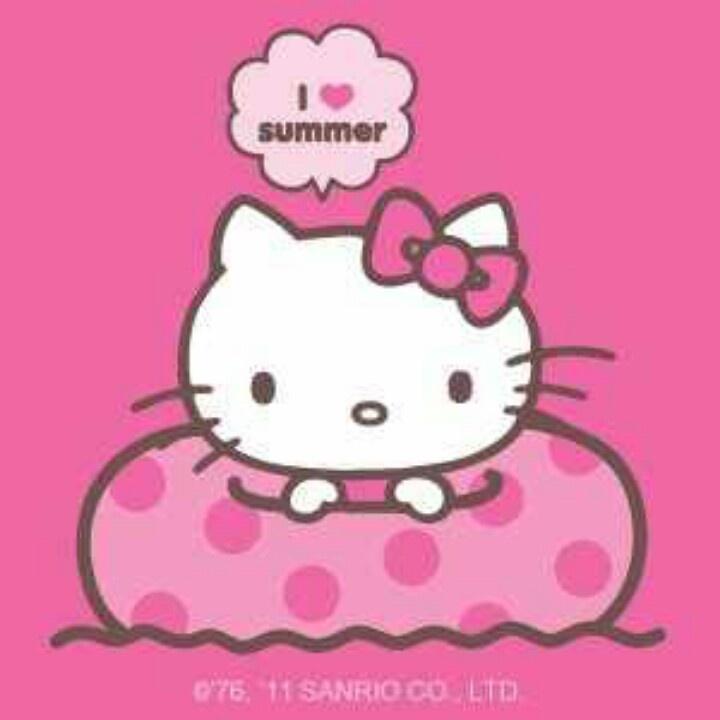 first day of summer hello kitty summer pinterest