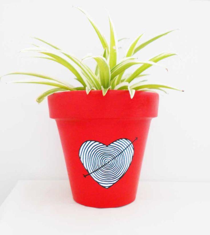 Maceta Corazón + Lazo de Amor!    http://chii.com.ar/hogar/81-maceta-n16-corazon-lazo-de-amor-.html
