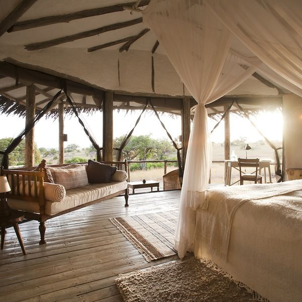 The Best Places To Stay On An African Safari >>> I would die to stay at any of these!