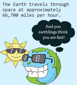 Interesting facts about planet Earth