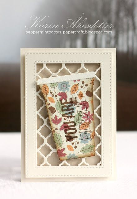 Peppermint Patty's Papercraft: Fall Coffee Lovers Blog Hop