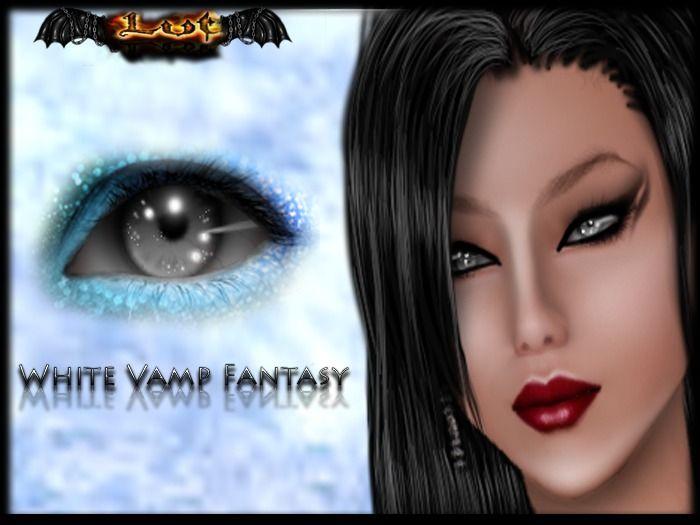 White Vamp Fantasy *** EYES MESH ***