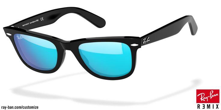 Customize & Personalize Your Ray-Ban RB2140 Original Wayfarer Sunglasses | Ray-Ban USA