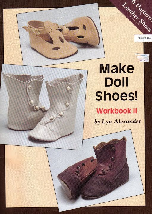 Free Copy of  Book - Make Doll Shoes!