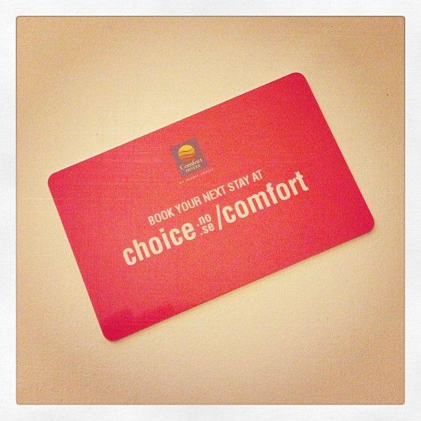 @comfortxpress - #nordicchoice og #comforthotels http://instagram.com/comfortxpress