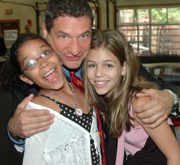 A Beautiful Memory; Rick Leventhal with his Daughters at Bar Mitzvah