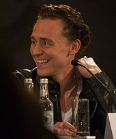 """Tom Hiddleston promoting Thor in London in April 2011. As Thor's adoptive brother and nemesis based on the deity(Loki) of the same name. Hiddleston was chosen after previously working with Branagh on Ivanov and Wallander.] Initially Hiddleston auditioned to play Thor but Branagh decided his talent would be better harnessed playing Loki. Hiddleston stated that """"Loki's like a comic book version of Edmund in King Lear, but nastier."""""""