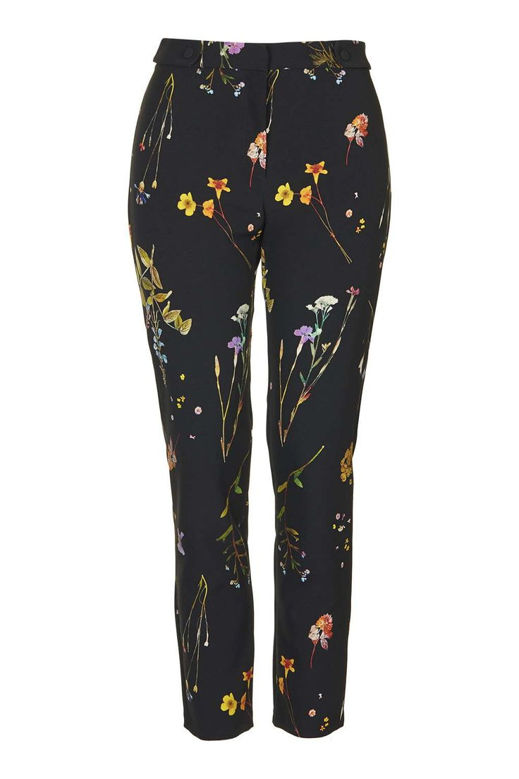 Photo 1 of Floral Cigarette Trousers