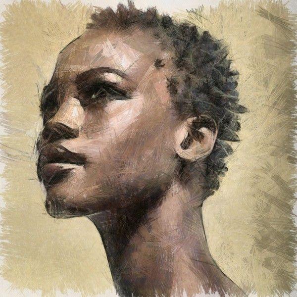 afro art | african, art, woman - inspiring picture on Favim.com