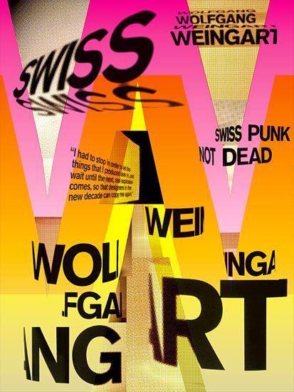 wolfgang weingart work - Google Search