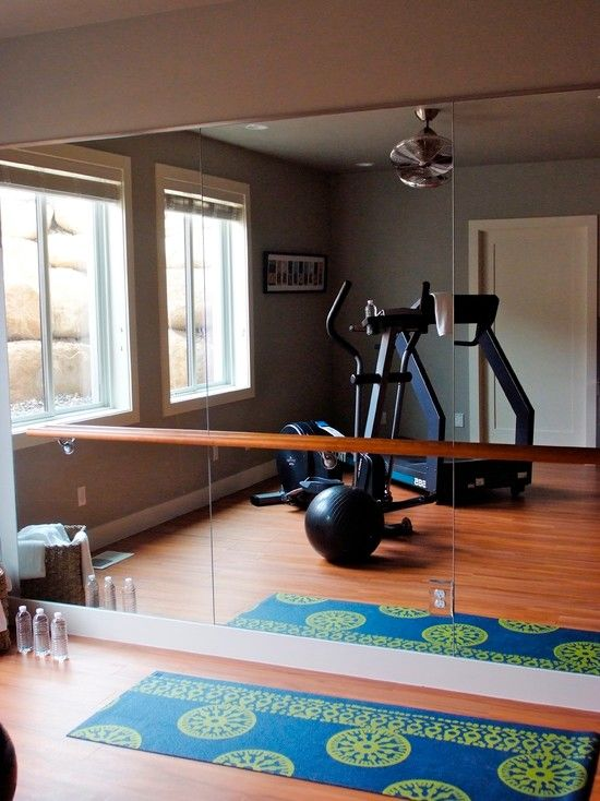 18 best images about in home workout areas on pinterest trainers beachbody and gym Home fitness room design ideas