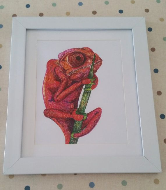Check out this item in my Etsy shop https://www.etsy.com/uk/listing/245902809/cham-the-chameleon