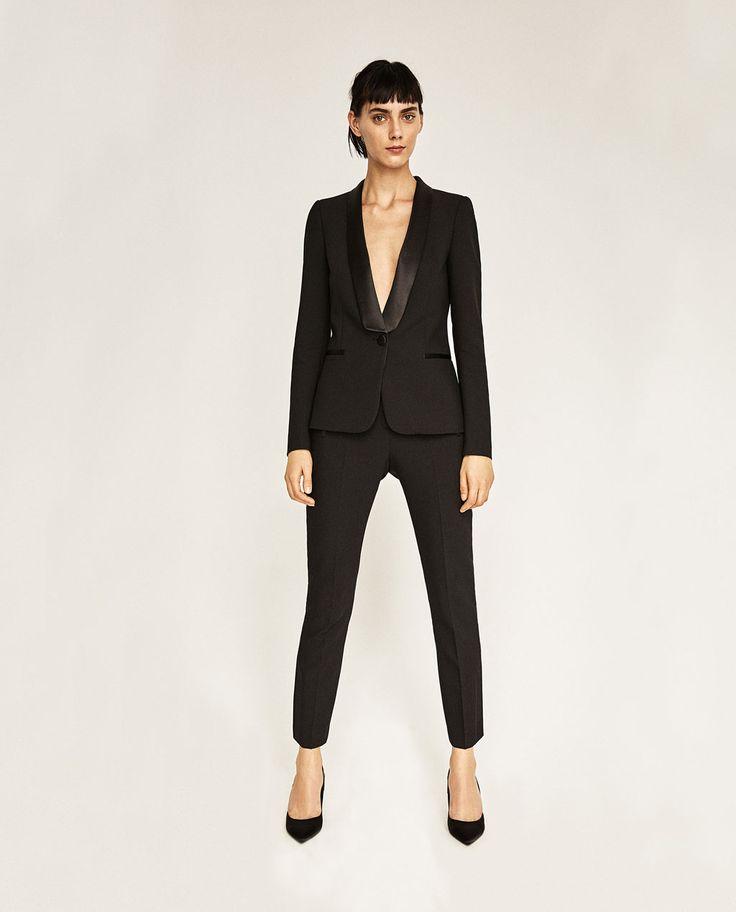 m s de 1000 ideas sobre blazers mujer en pinterest zara. Black Bedroom Furniture Sets. Home Design Ideas