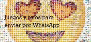 Retos y juegos de WHatsApp 2016