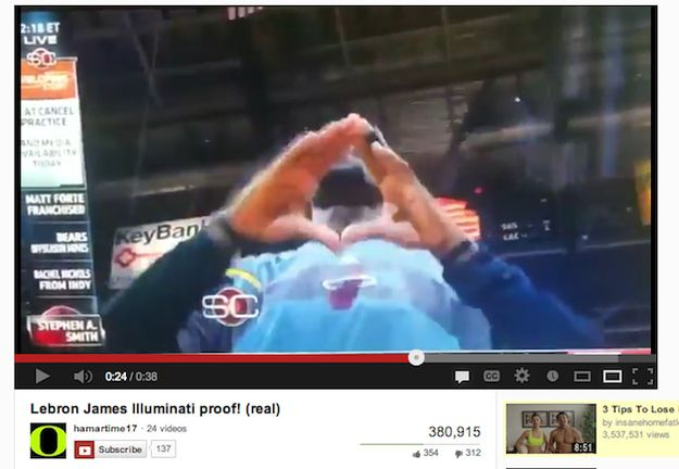 LeBron James in real life | 33 Signs The Illuminati Is Real