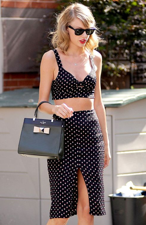Taylor swifts Two piece