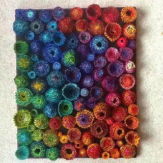 Crochet Garden cardboard