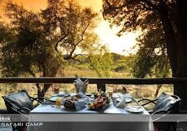 Imagine sitting on the deck listening to the call of the wild as you have your afternoon meal