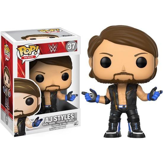 WWE AJ Styles POP! Vinyl Figur (#37)
