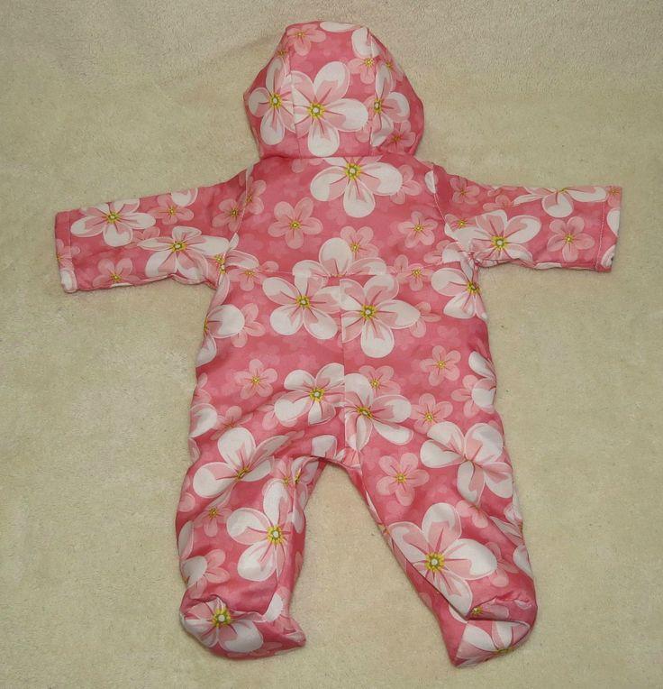Комбинезон для куклы-малышастика, выкройка / Мастер-классы, творческая мастерская: уроки, схемы, выкройки для кукол, своими руками / Бэйбики. Куклы фото. Одежда для кукол