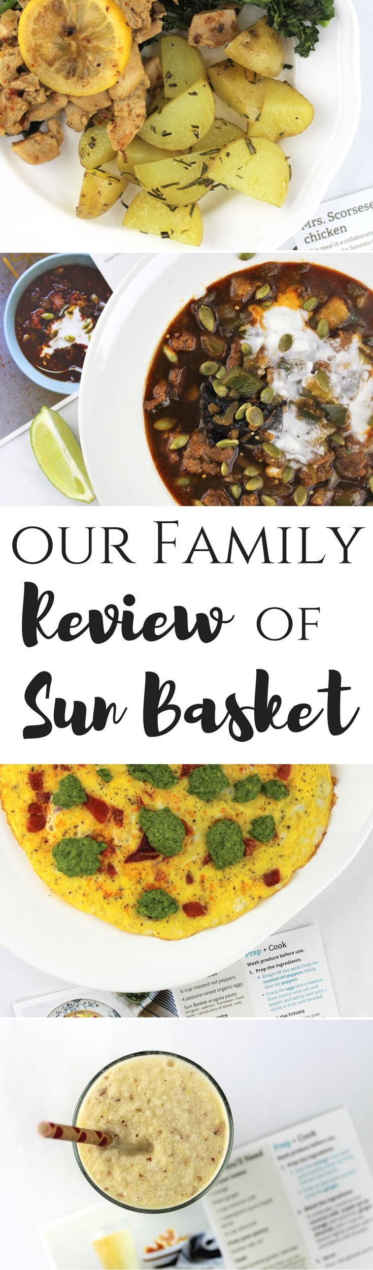 Our Family Review of Sun Basket   Meal delivery system   Organic, fresh, convenient   #ad  