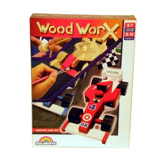 #games #australia #toys #children -   Wood WorX Racing Car. Assemble and glue your very own Racing Car from 16 pre-cut pieces of wood and then use the included paint pots and stickers to finsih the job. Great learning toy!    We deliver anywhere in A