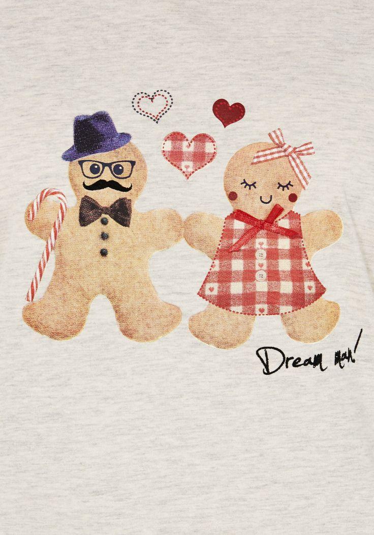 clothing at tesco f f dream gingerbread man pyjamas. Black Bedroom Furniture Sets. Home Design Ideas