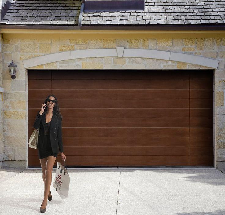 spesso Oltre 25 fantastiche idee su Porte del garage in legno su  MH14