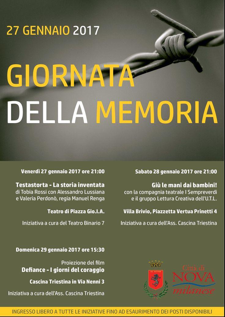 Giornata della Memoria 2017