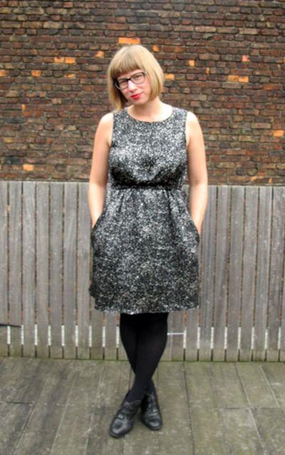 Named Leini Dress in Silk Charmeuse