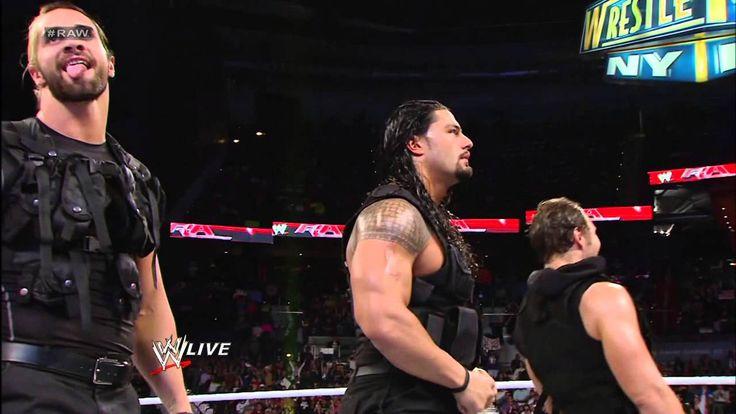 After The Shield attacks Brad Maddox, John Cena, Sheamus and Ryback send...