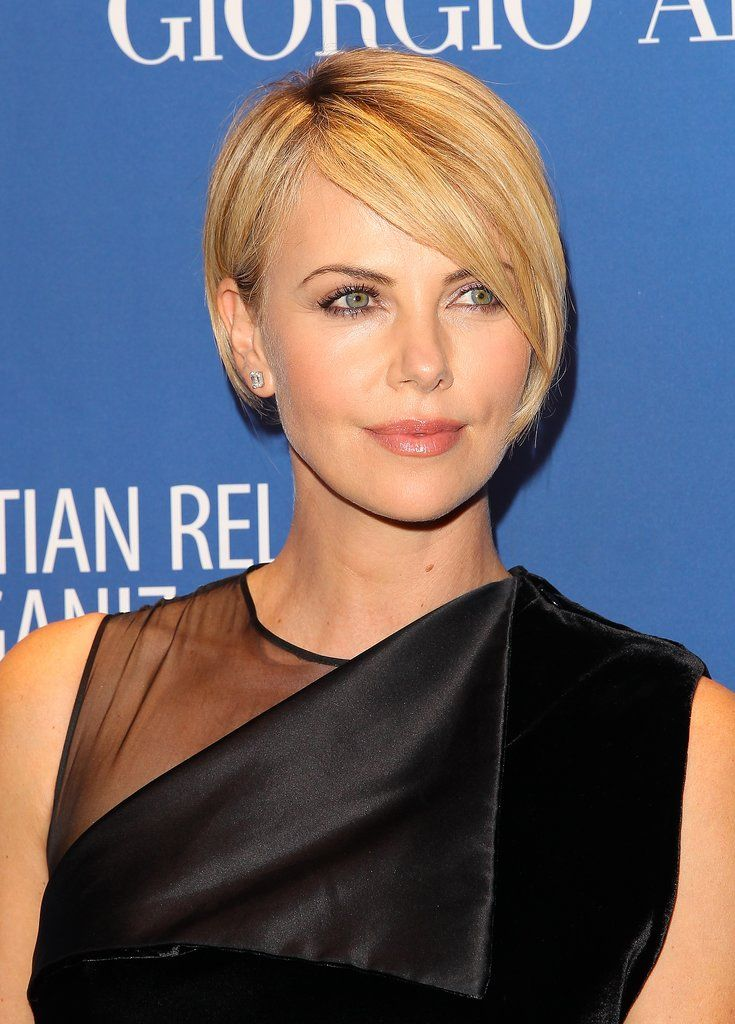 Short hair inspiration! Charlize Theron think I like this one?