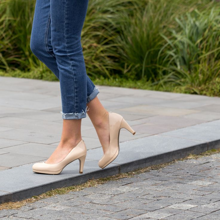 Timeless, classic and beautifully chic. The Miss Sofie 'Marcelle' nude heel will take you places. Shop: https://www.shoeconnection.co.nz/womens/heels/high-heels/miss-sofie-marcelle-leather-heel?c=Nude%20Patent%20Leather