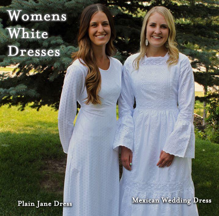 LDS Temple Clothing | Mormon Temple Clothes | Temple Wedding Dresses