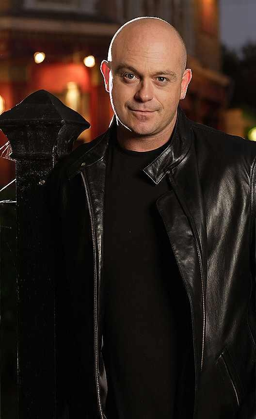Grant Mitchell played by Ross Kemp