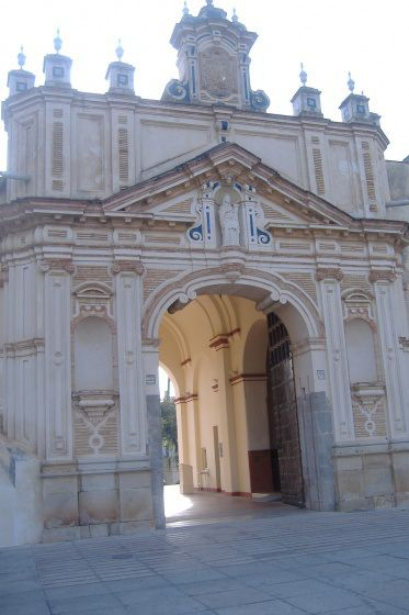 Portada principal monasterio de la Cartuja. #Sevilla #Seville #sevillaytu @Sevilla&Tú