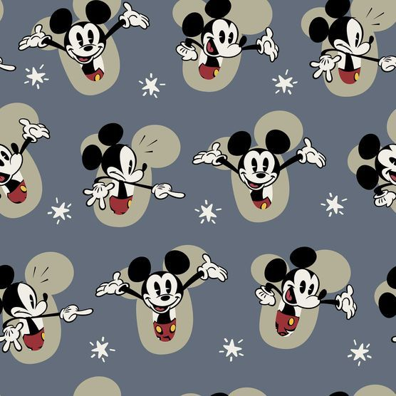 Licensed Fleece Fabric- Mickey Shorts at Joann.com
