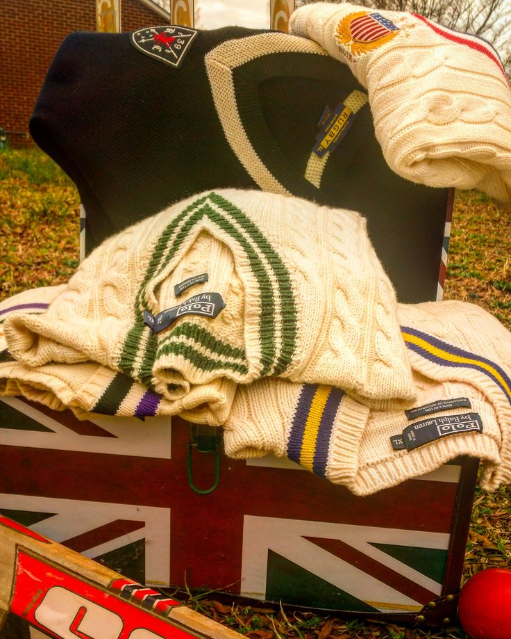 "@ralphlauren sweaters have ""wicket"" style!!! Get it!?!?"