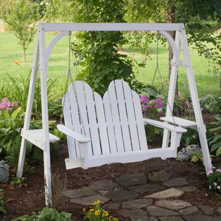Great American Woodies Cottage Classic Adirondack Porch
